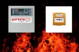 Sistema antincendio manuale o automatico<br>Manual or automatic fire extinguishing system